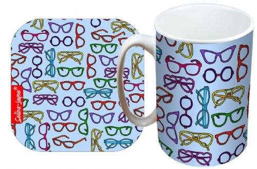 Selina-Jayne Spectacles Limited Edition Designer Mug and Coaster Gift Set